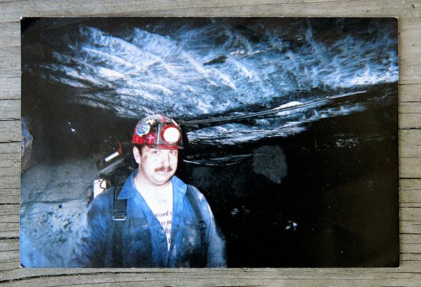 Roy Middleton, who was killed along with 4 other miners in an explosion at the Darby No. 1 mine in Harlan, Kentucky, in 2006. Source: Anna Boiko-Weyrauch/NPR/Original photo courtesy of the Middleton family